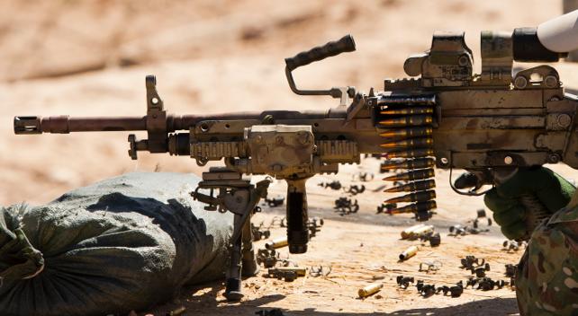 mk 48 light machine gun